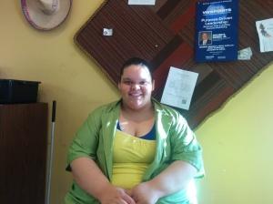 Ashley Pickett, Globe employee