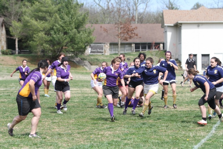 The Lady Ruckus in their first game