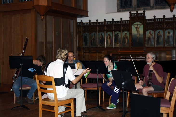 The Sewanee Music Collective meets in St. Luke's Chapel