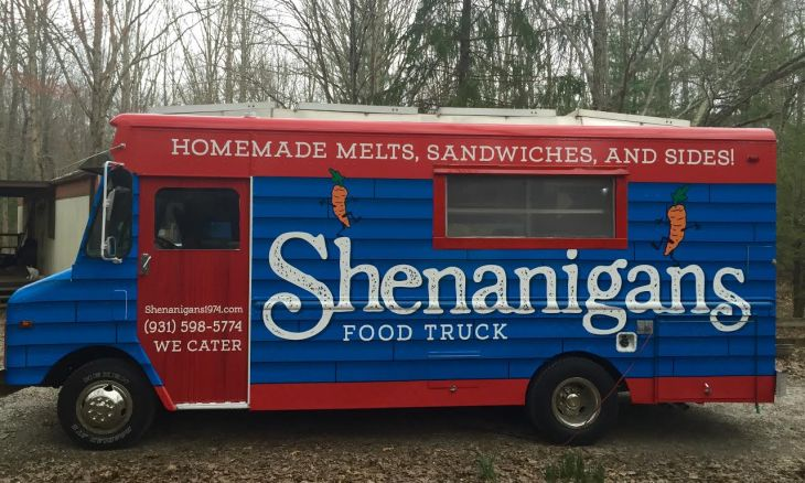 The Shenanigans food truck