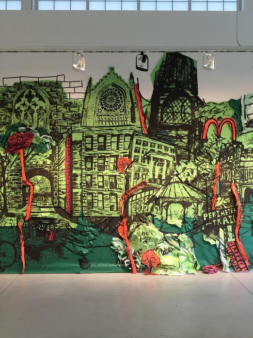 Amanda Burnham's art installation